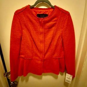 Zara Blazer Orange brand new size L